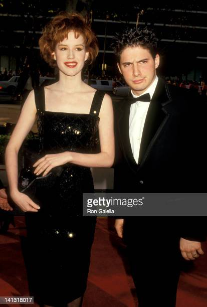 Molly Ringwald and Adam Horovitz at the 59th Annual Academy Awards Dorothy Chandler Pavilion Los Angeles