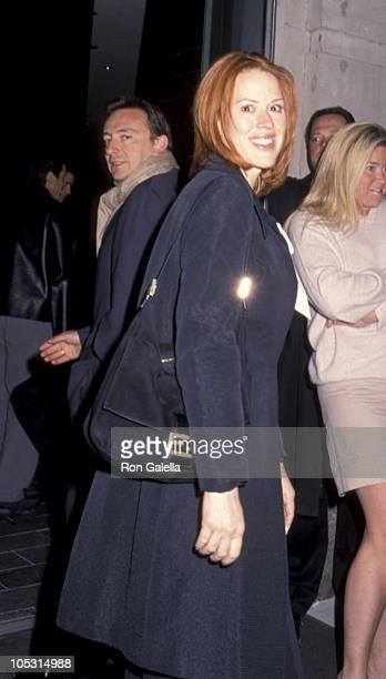 Molly Ringwald and husband during The Virgin Suicides New York Premiere at United Artists Union Square in New York City New York United States