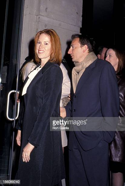 Molly Ringwald and husband during 'The Virgin Suicides' New York Premiere at United Artists Union Square in New York City New York United States