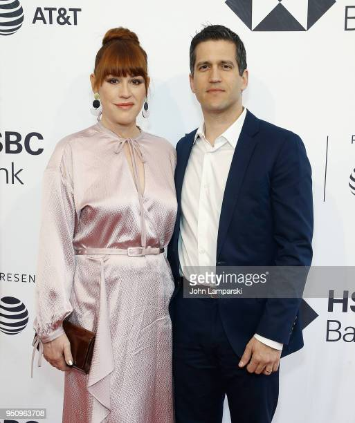 Molly Ringwald and Panio Gianopoulos attend All These Small Moments during the 2018 Tribeca Film Festival at SVA Theater on April 24 2018 in New York...