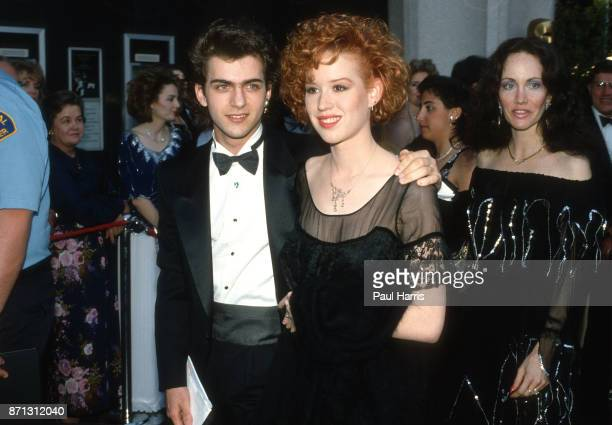 Molly Ringwald at 21 arrives at a party in Los Angeles she won the Kids Choice Awards for that year June 25 1989