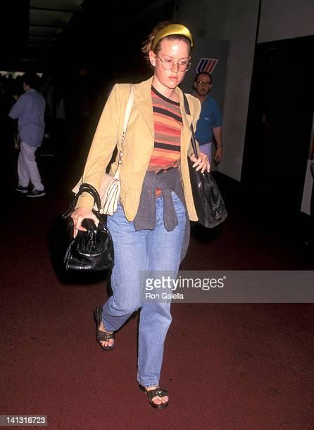 Molly Ringwald at the Molly Ringwald at Los Angeles International Airport Los Angeles International Airport Los Angeles