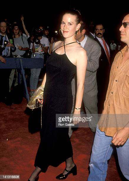 Molly Ringwald at the Premiere of 'Wolf', Ziegfeld Theater, New York City.