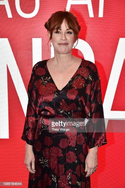 Molly Ringwald attend the SAGAFTRA Foundation Conversation 'All These Small Moments' at The Robin Williams Center on January 16 2019 in New York City