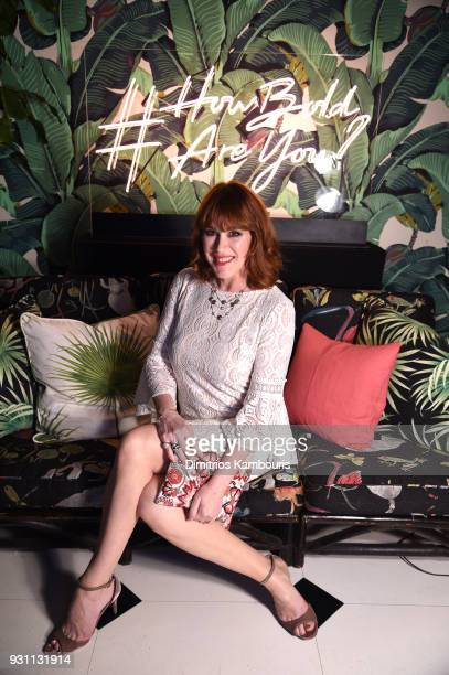Molly Ringwald attends Chico's #HowBoldAreYou NYC Event at Indochine on March 12 2018 in New York City