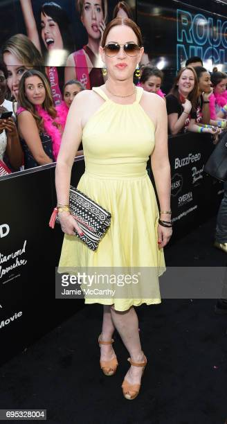 Molly Ringwald attends New York Premiere of Sony's ROUGH NIGHT presented by SVEDKA Vodka at AMC Lincoln Square Theater on June 12 2017 in New York...