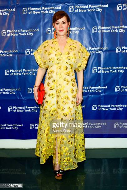 Molly Ringwald attends the Planned Parenthood Of NYC / Spring Into Action Gala 2019 at Center 415 on May 1 2019 in New York City