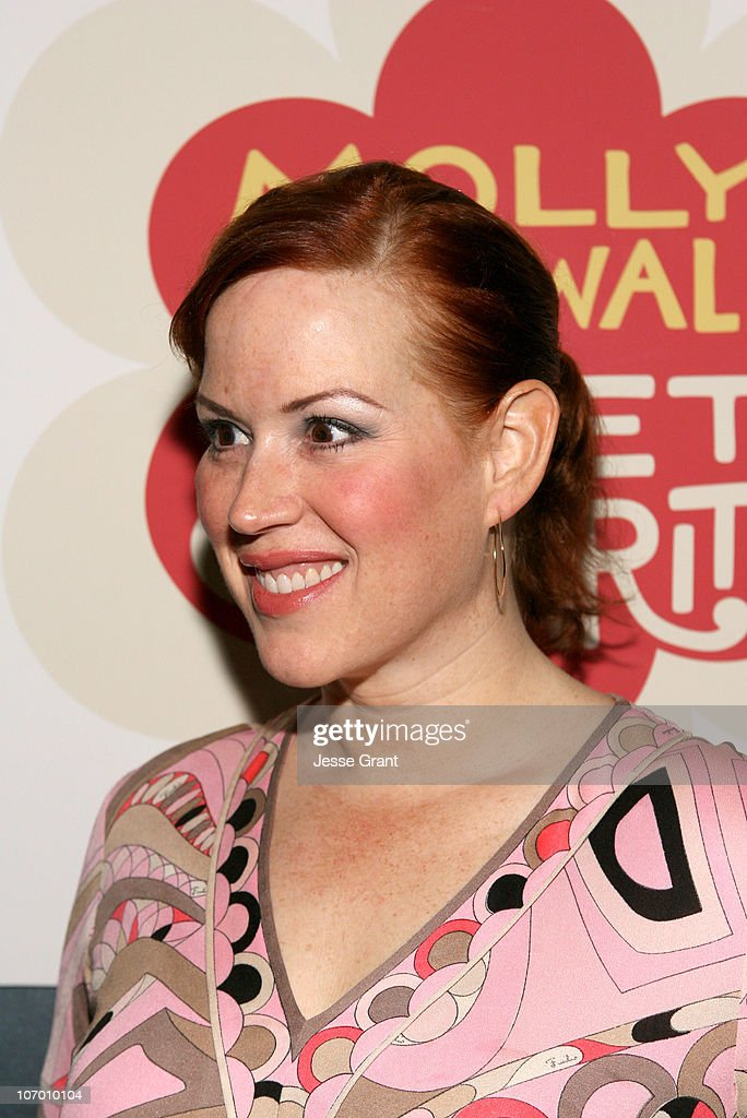 Molly Ringwald during Gran Centenario Tequila Hosts the L.A. Premiere Performance of 'Sweet Charity' - After Party at Cinespace in Hollywood, California, United States.