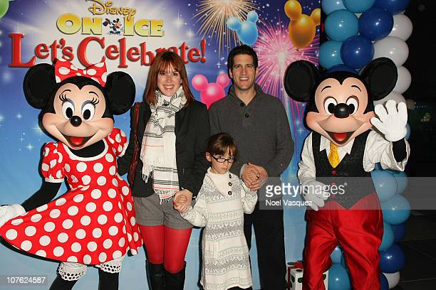 Molly Ringwald Mathilda Ereni and Panio Gianopoulos attend the Disney On Ice AEG Presents Let's Celebrate to benefit the Starlight Children's...