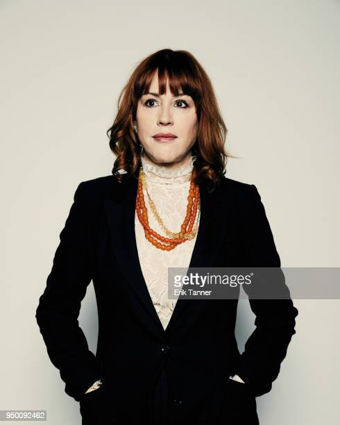 Molly Ringwald of the film All These Small Moments poses for a portrait during the 2018 Tribeca Film Festival at Spring Studio on April 22 2018 in...