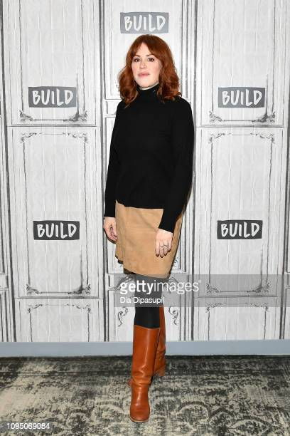 Molly Ringwald visits Build to discuss 'All These Small Moments' at Build Studio on January 16 2019 in New York City