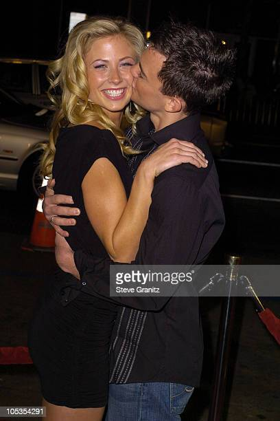 Molly Schade and Travis Wester during Eurotrip Premiere Arrivals at Grauman's Chinese Theatre in Hollywood California United States