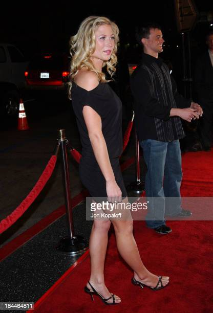 Molly Schade during Eurotrip Los Angeles Premiere Red Carpet Arrivals at Grauman's Chinese Theatre in Hollywood California United States