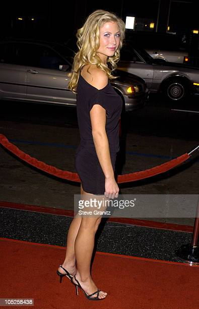 Molly Schade during Eurotrip Premiere Arrivals at Grauman's Chinese Theatre in Hollywood California United States