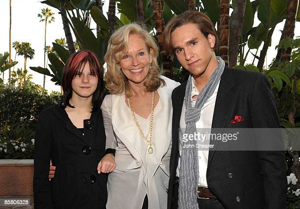 Molly Schider, Brenda Siemer-Scheider, and Christian Scheider attend Smiles from the Stars: A Tribute to the Life and Work of Roy Scheider at The...