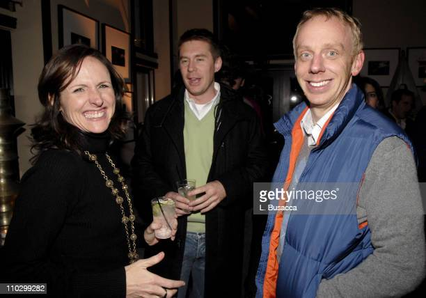 Molly Shannon and Mike White director during 2007 Park City Hollywood Life House Year of the Dog Cocktail Party at Hollywood House Lodge in Park City...