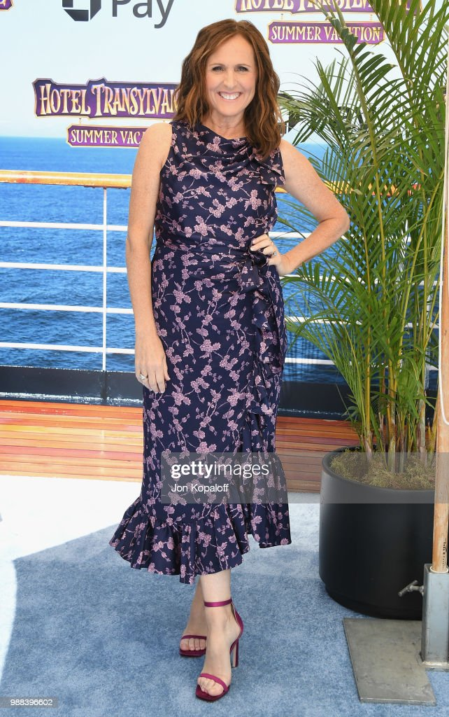 Molly Shannon attends Columbia Pictures And Sony Pictures Animation's World Premiere Of 'Hotel Transylvania 3: Summer Vacation' at Regency Village Theatre on June 30, 2018 in Westwood, California.
