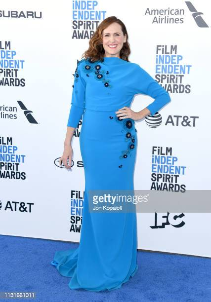 Molly Shannon attends the 2019 Film Independent Spirit Awards on February 23 2019 in Santa Monica California