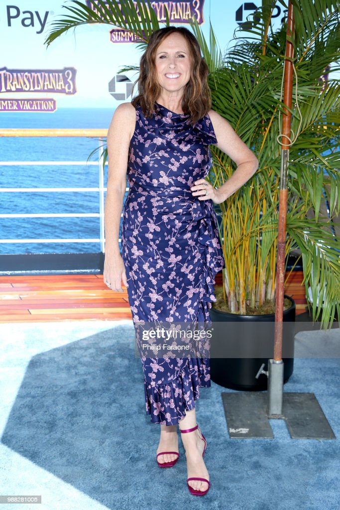 Molly Shannon attends the Columbia Pictures and Sony Pictures Animation's world premiere of 'Hotel Transylvania 3: Summer Vacation' at Regency Village Theatre on June 30, 2018 in Westwood, California.