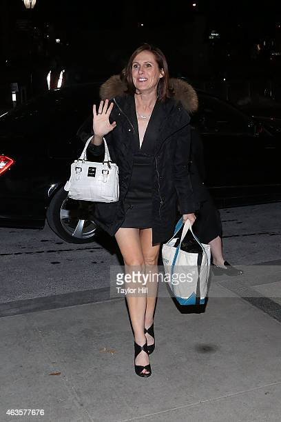 Molly Shannon attends the Saturday Night Live 40th Anniversary Celebration After Party at The Plaza Hotel on February 15 2015 in New York City