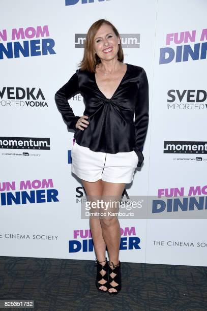 Molly Shannon attends the screening Of Fun Mom Dinner at Landmark Sunshine Cinema on August 1 2017 in New York City