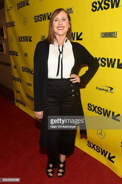 Molly Shannon attends the Wild Nights With Emily Premiere 2018 SXSW Conference and Festivals at Paramount Theatre on March 11 2018 in Austin Texas