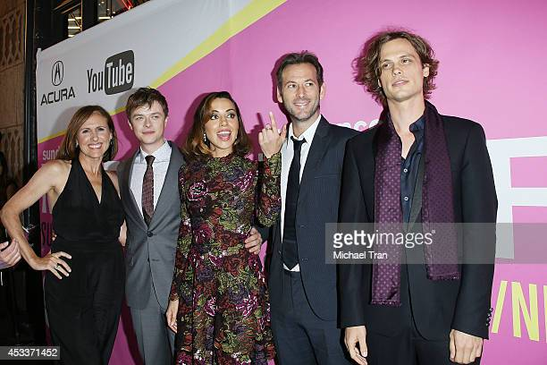 Molly Shannon Dane DeHaan Aubrey Plaza Jeff Baena and Matthew Gray Gubler arrive at the Los Angeles Premiere of Life After Beth held during the 2014...