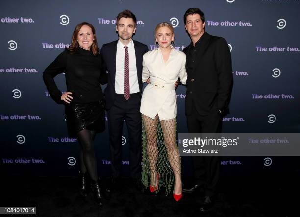 Molly Shannon Drew Tarver Heléne Yorke and Ken Marino attend Comedy Central's 'The Other Two' series premiere party at Dream Hotel Downtown on...
