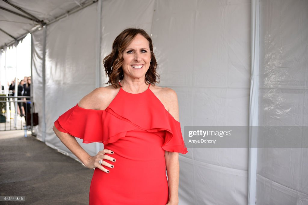 Molly Shannon during the 2017 Film Independent Spirit Awards at the Santa Monica Pier on February 25, 2017 in Santa Monica, California.