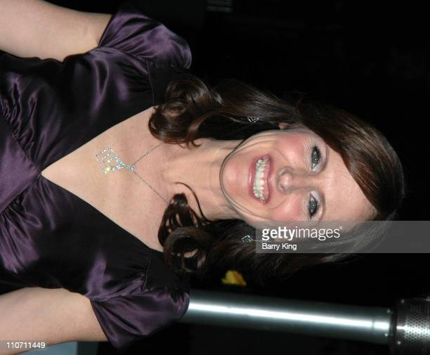Molly Shannon during Year of the Dog Los Angeles Premiere Arrivals at The Paramount Pictures Theater in Los Angeles California United States