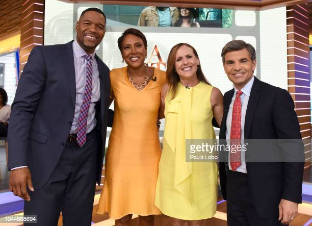AMERICA Molly Shannon is a guest on Good Morning America on Tuesday October 2 2018 airing on the Walt Disney Television via Getty Images Television...