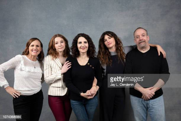 Molly Shannon Kayli Carter Tamara Jenkins Kathryn Hahn and Paul Giamatti from Private Life are photographed for Los Angeles Times on January 19 2018...