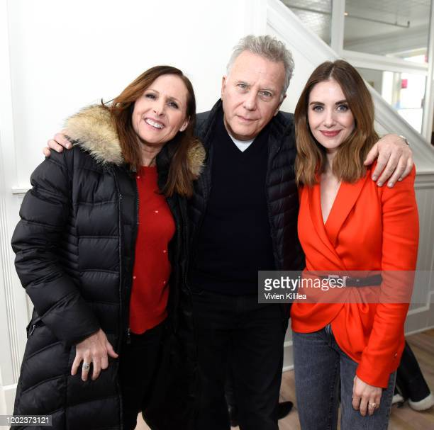 Molly Shannon Paul Reiser and Alison Brie of Horse Girl stop by WarnerMedia Lodge Elevating Storytelling with ATT during Sundance Film Festival 2020...