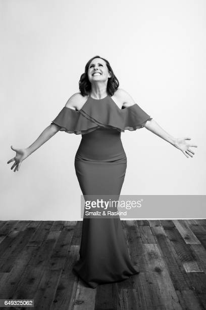 Molly Shannon poses for portrait session at the 2017 Film Independent Spirit Awards on February 25 2017 in Santa Monica California