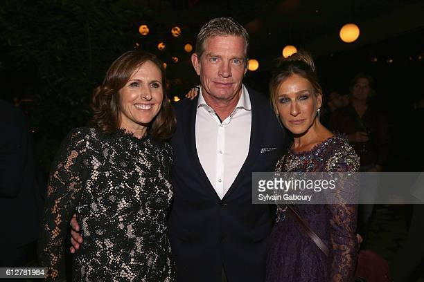 Molly Shannon Thomas Haden Church and Sarah Jessica Parker attend HBO Presents the New York Red Carpet Premiere of 'Divorce' After Party at La Sirena...