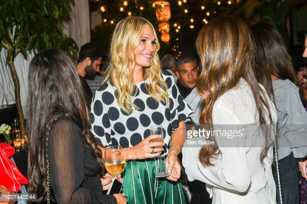 Molly Simms and Rebecca Minkoff attend Nordstrom's SOMETHING NAVY Brand Launch Dinner At The Gramercy Park Hotel on September 5 2018 in New York City