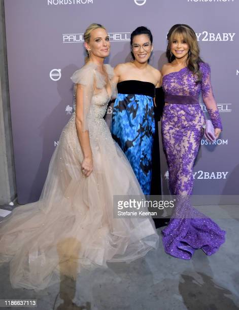 Molly Sims Ali Wong and Paula Abdul attend the 2019 Baby2Baby Gala presented by Paul Mitchell on November 09 2019 in Los Angeles California