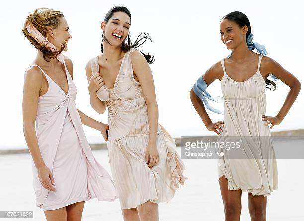 Molly Sims Amelia Vega and Joy Bryant *Exclusive*
