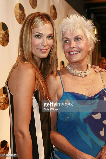 Molly Sims and Dorothy Sims during Molly Sims 4th Annual Night with the Friends of El Faro at The Music Box Henry Fonda Theatre in Hollywood...