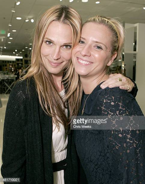 Molly Sims and Emese Szenafy during Nordstrom Topanga Celebrates Grand Opening Inside and Fashion Show at Nordstrom Topanga in Woodland Hills...