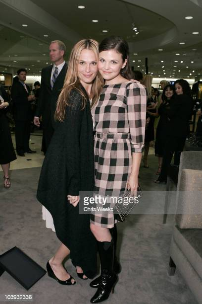 Molly Sims and Ginnifer Goodwin