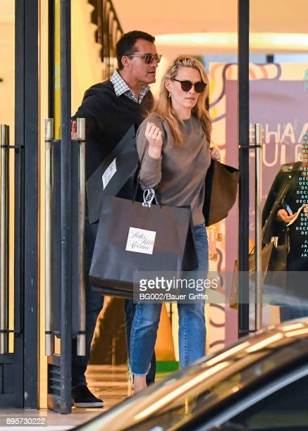 Molly Sims and her husband Scott Stuber are seen on December 19 2017 in Los Angeles California