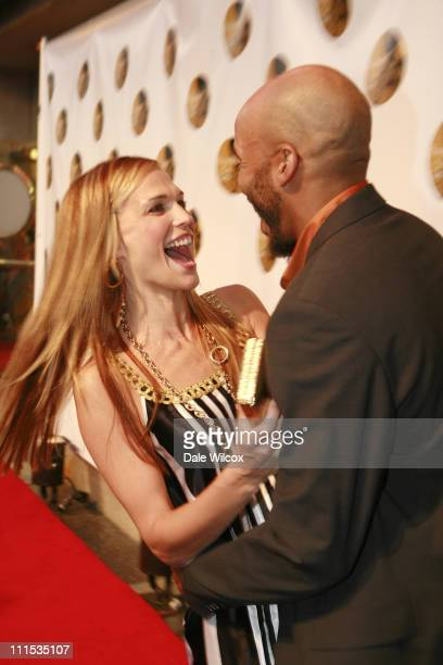 Molly Sims and James Lesure during Molly Sims 4th Annual Night with the Friends of El Faro at The Music Box Henry Fonda Theatre in Hollywood...