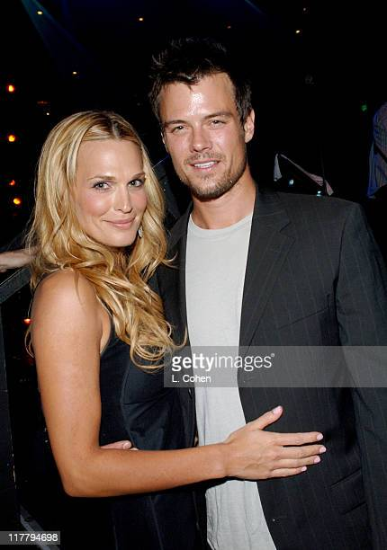 Molly Sims and Josh Duhamel during Molly Sims Hosts the 3rd Annual Night with the Friends of El Faro Benefit at Henry Fonda Theatre in Los Angeles...