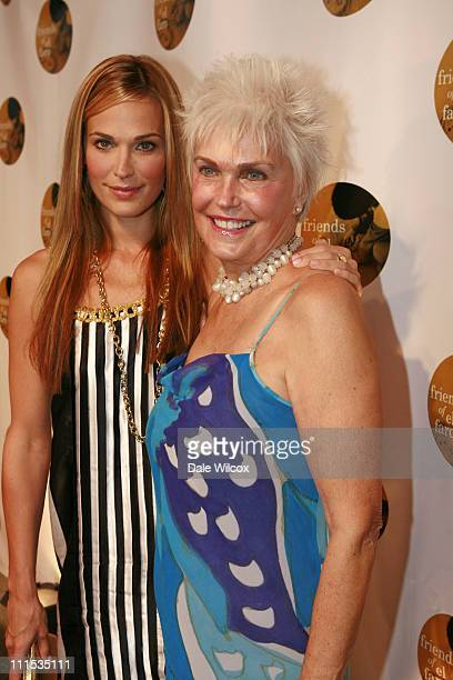 Molly Sims and mother Dorothy Sims during Molly Sims 4th Annual Night with the Friends of El Faro at The Music Box Henry Fonda Theatre in Hollywood...
