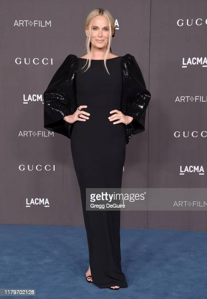 Molly Sims arrives at the 2019 LACMA Art Film Gala Presented By Gucci on November 2 2019 in Los Angeles California