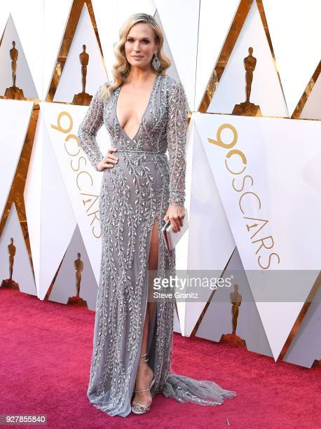 Molly Sims arrives at the 90th Annual Academy Awards at Hollywood Highland Center on March 4 2018 in Hollywood California