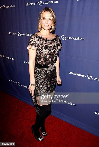 Molly Sims arrives at The Alzheimer's Association's 17th Annual A Night At Sardi's at the Beverly Hilton Hotel on March 4 2009 in Beverly Hills...