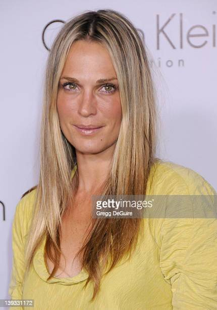 Molly Sims arrives at the Calvin Klein Collection and Los Angeles Nomadic Division Present L.A. Arts Month on January 28, 2010 in Los Angeles,...