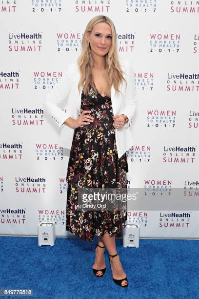 Molly Sims at the LiveHealth Online Summit Women Connect to Health 2017 on September 19 2017 in New York City